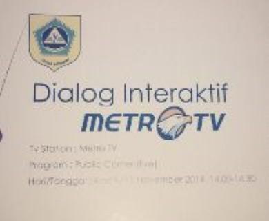 Website Resmi Kabupaten Bogor Live Dialog Interaktif Metro Tv