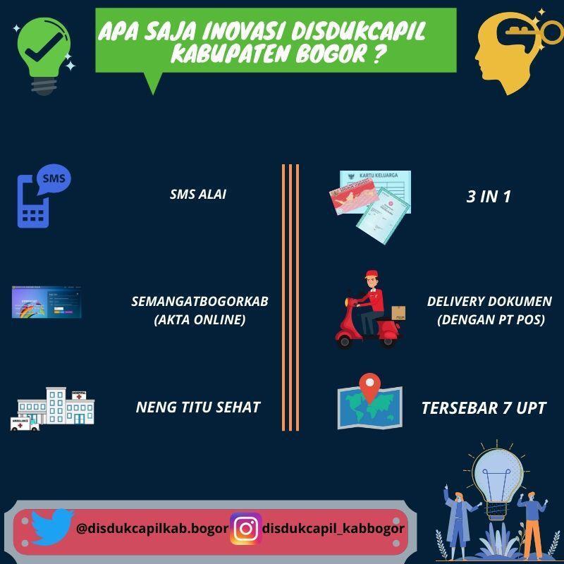 Inovasi Disdukcapil Kabupaten Bogor