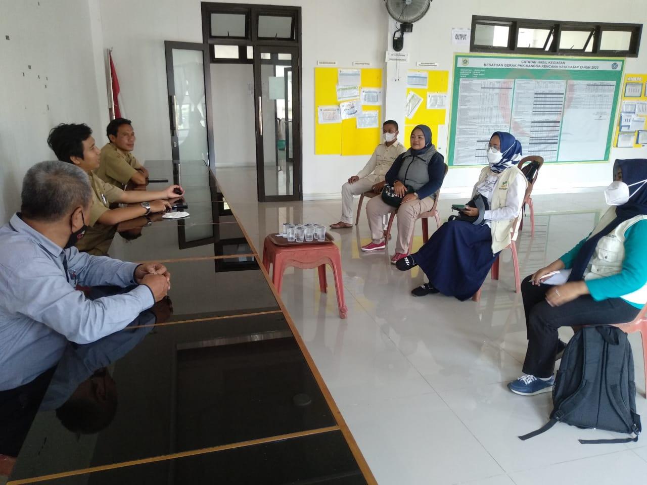 Rapat terbatas bersama IPSM Kecamatan Leuwiliang di Aula Kecamatan Leuwiliang dalam rangka rencana pelaksanaan Muscam IPSM Kecamatan Leuwiliang.