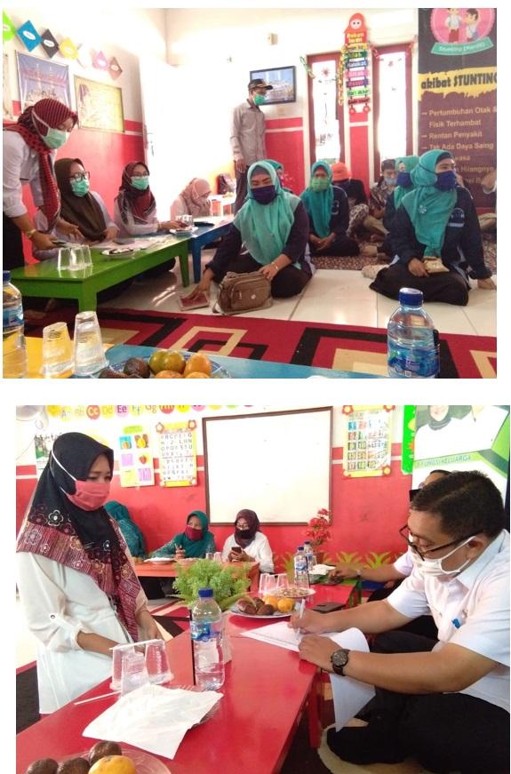 Monitoring dan Evaluasi  Kegiatan KAMPUNG KB SEJAHTERA Desa Rabak