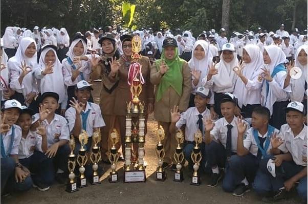 SMPN 2 Tamansari Kukuhkan Diri Jadi Juara Umum Lomba PMR se-Bogor Raya