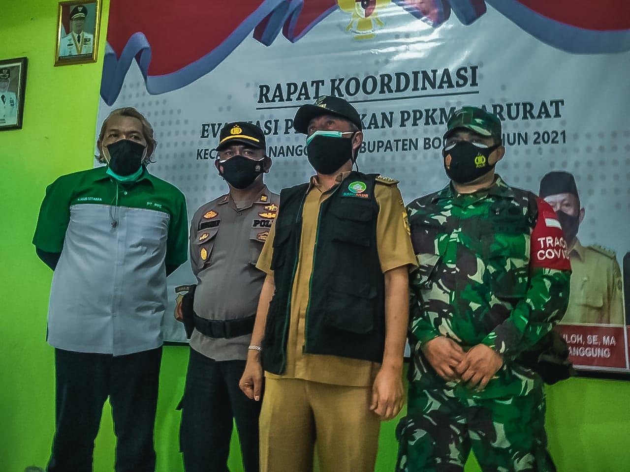 Vaksinasi Massal Tingkat Kecamatan Nanggung