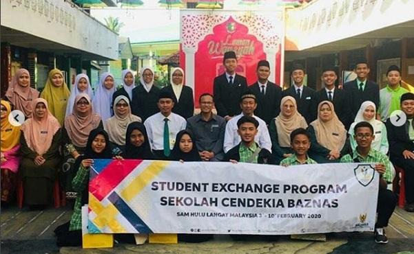 6 siswa Cendekia BAZNAS ikuti Program Pertukaran Pelajar ke Malaysia