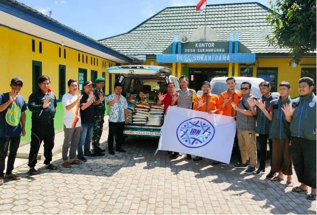 SMP IDN Boarding School Kirim Pasukan Ke Sukajaya