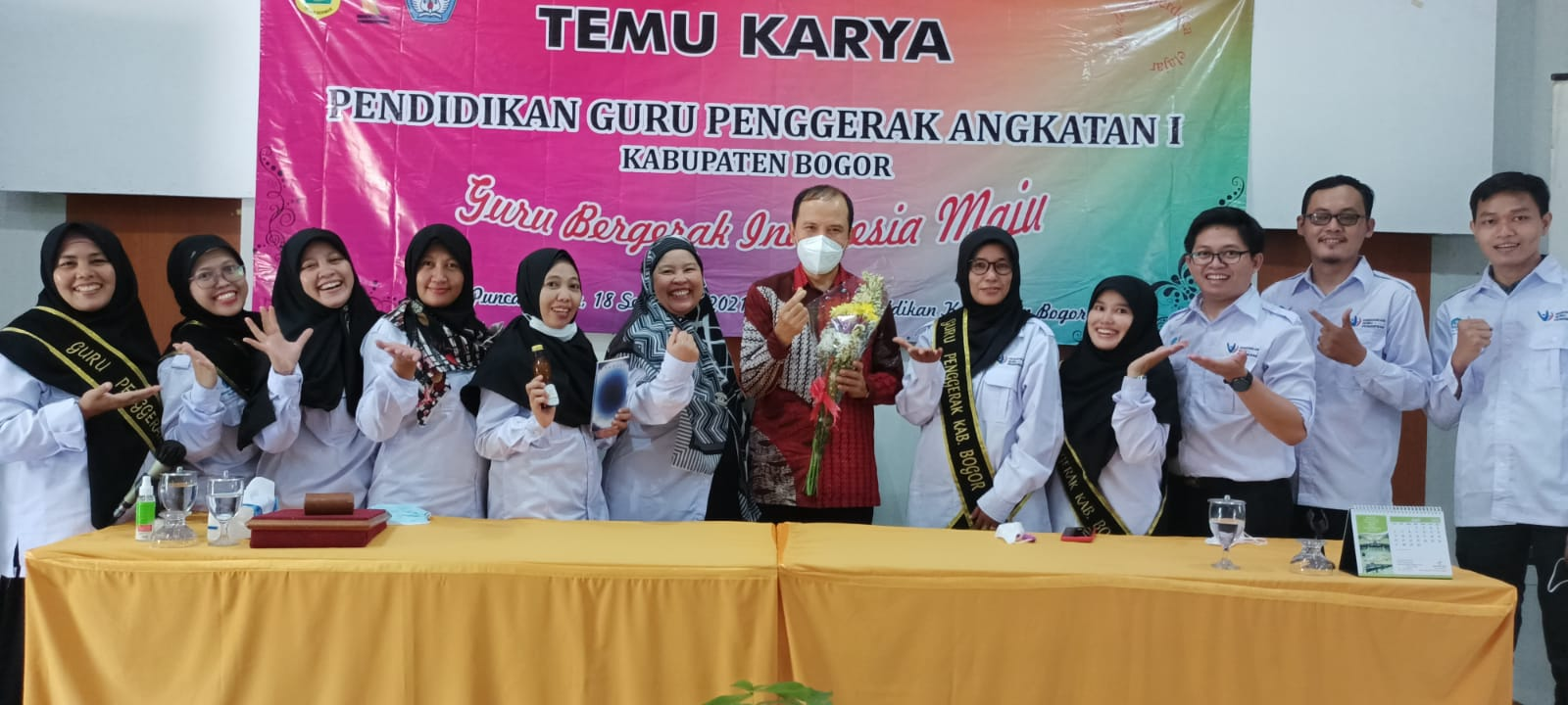 87 Guru Penggerak Kabupaten Bogor Pamerkan Hasil Inovasi