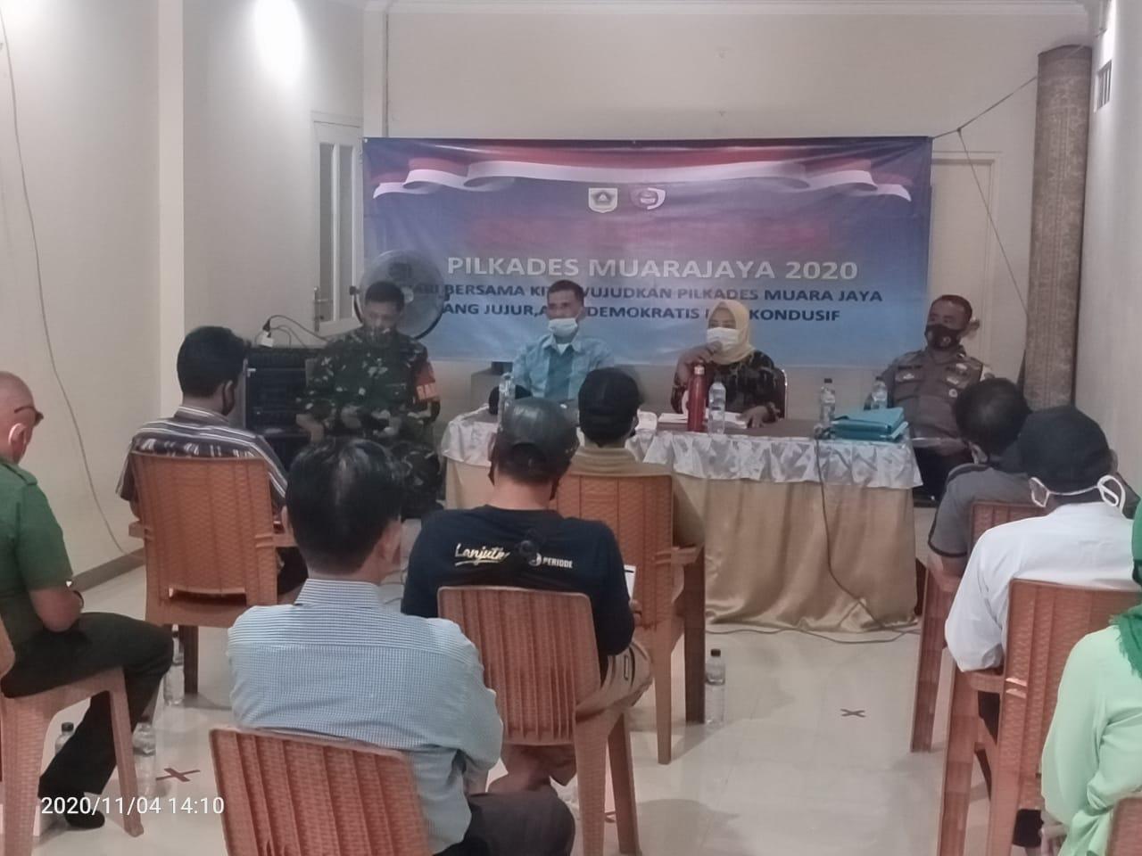Monitoring penetapan Daftar Pemilih Sementara pada Pemilihan Kepala Desa oleh tim Koordinator Kecamatan