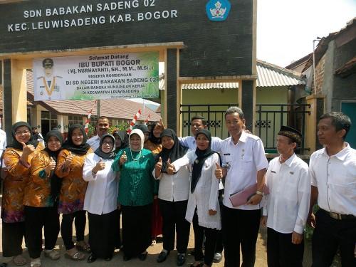 Kegiatan Kunjungan Kerja Bupati Kabupaten Bogor Tahun 2017 Kecamatan Leuwisadeng
