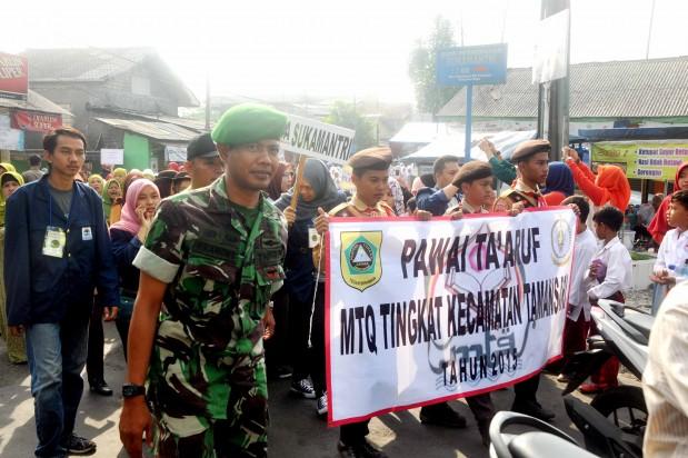 Kecamatan Tamansari Meriahkan HUT RI