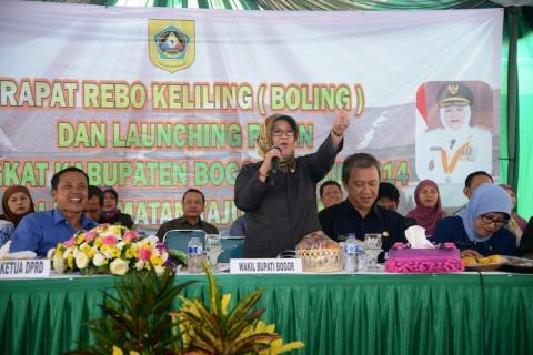 Tajurhalang Siap Mewujudkan Kabupaten Bogor menjadi Kabupaten Termaju di Indonesia