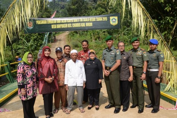 Bupati Bogor Ingin Terbangunnya Infrastruktur Yang Mantap Di Kabupaten Bogor