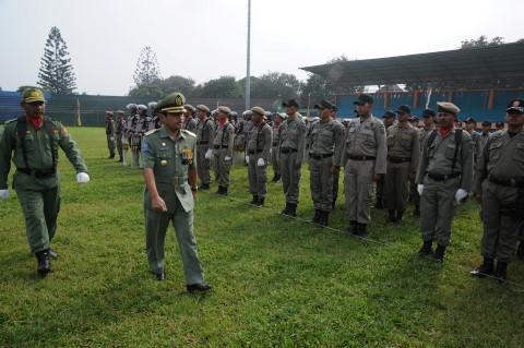 Bupati Bogor Pimpin Apel Siaga Pol PP dan Linmas