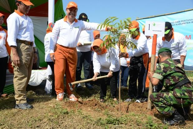 Jaga Aset Daerah dan Rehabilitasi Lahan, Pemkab Bogor Lakukan Penanaman Pohon