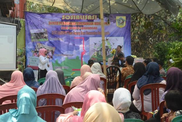Desa Bojong Baru Jadi Percontohan Rumah Pendidikan Lingkungan Hidup
