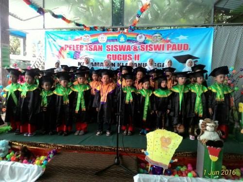 Pelepasan Siswa dan Siswi PAUD Kecamatan Klapanunggal