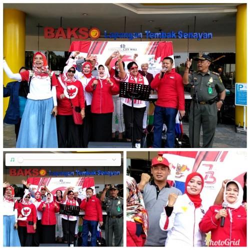Acara festival merah putih di kab.Bogor