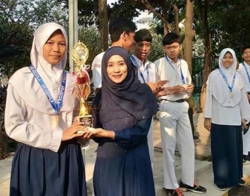 SMPIT Anugrah Insani borong mendali  pencak silat turnamen Tanah Kujang 2019