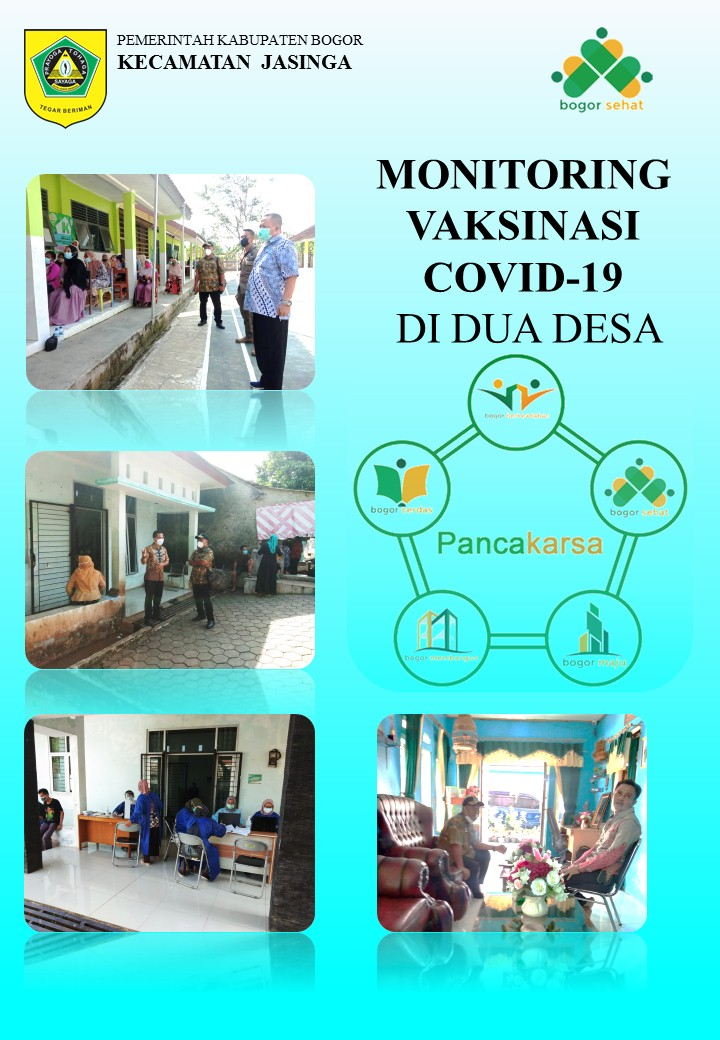 Monitoring Vaksinasi Covid-19 Di Dua Desa
