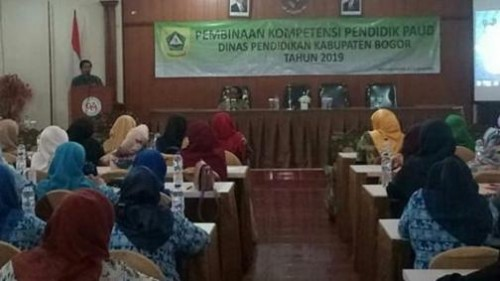 DISDIK GELAR BIMTEK PENGUATAN KOMPETENSI TENAGA PENDIDIK PAUD 2019