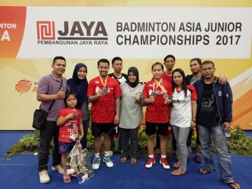 Juara Badminton Asia Junior Championships 2017