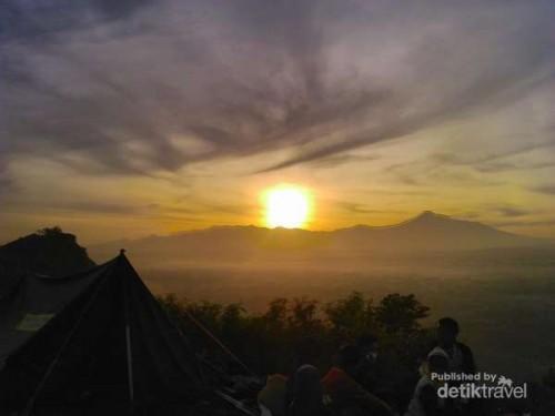 Pesona Sunrise di Bukit Kapur Ciampea