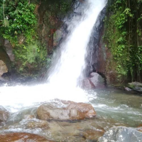 Pesona Wisata Alam Curug Cibatu Hideng Desa Kiarasari Kecamatan Sukajaya Bogor