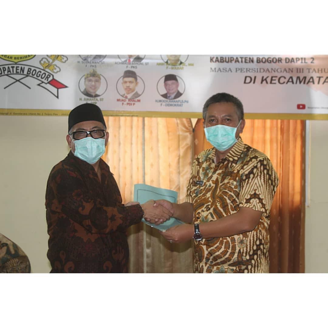 Reses Anggota DPRD Kabupaten Bogor Dapil II di Kecamatan Cileungsi.