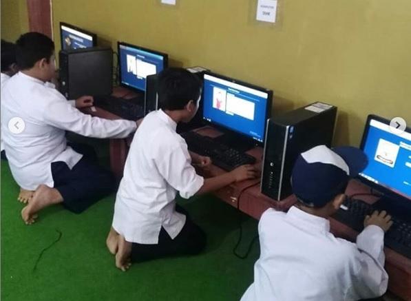 SMP YPUI Parung Selenggarakan Pemilihan OSIS