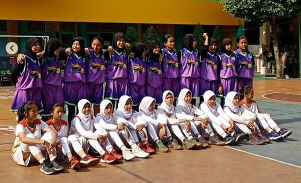 Tim Basket Putri SMP PGRI I Cibinong Juarai 1 Cup Proudly Present Forca 5.0,
