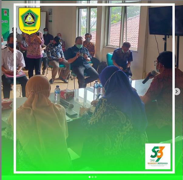 Monev Kelembagaan Desa Oleh DPMD Kab.Bogor di Kecamatan Tenjo