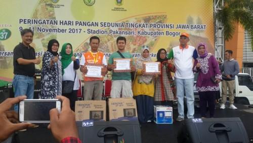 Juara 2 Lomba Pameran pada Peringatan Hari Pangan Sedunia Tk Provinsi