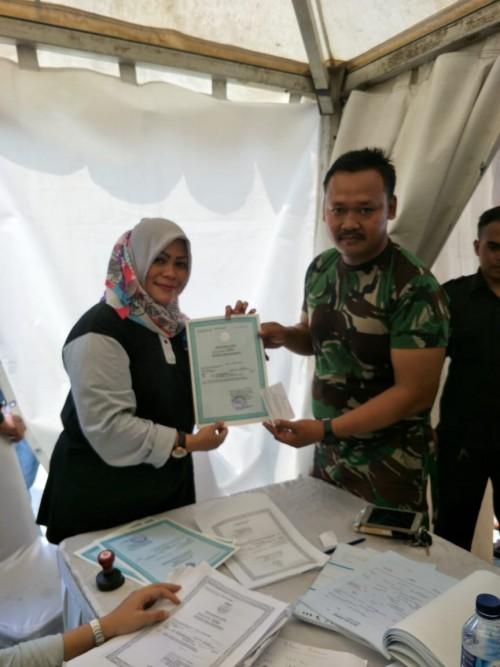 partisipasi DIsdukcapil Kab Bogor dalam memeriahkan PORDA XIII