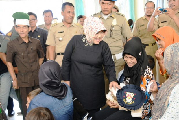 Pemkab Bogor Guyur Kecamatan Tenjo 70 Miliar Rupiah