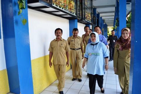 Wabup Bogor Tinjau Pelaksanaan UN di Kabupaten Bogor